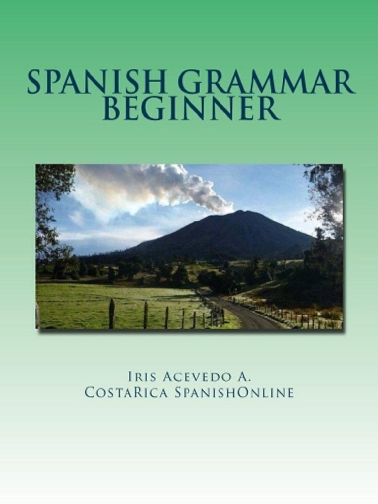 Spanish Grammar Beginner