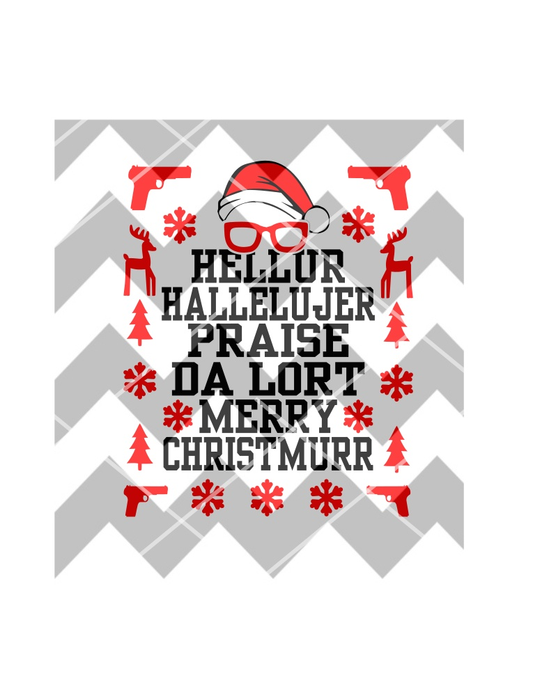 Madea Christmas SVG, Ugly Sweater SVG
