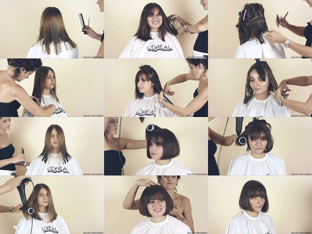 Ceca, Marijana, and Tatjana Haircut Part 3: Final Haircut