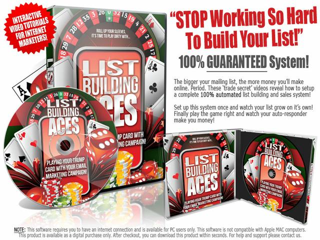 List Building Aces with Master Resell Rights