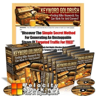 Keyword Gold Rush with Master Resell Rights
