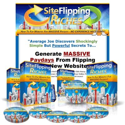 Site Flipping Riches with Master Resale Rights