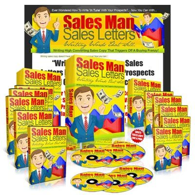Sales Man Sales Letters with Master Resale Rights