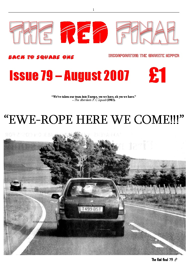 The Red Final, Issue 79