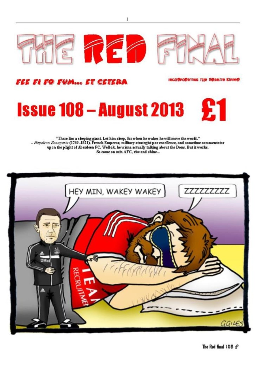 The Red Final, Issue 108