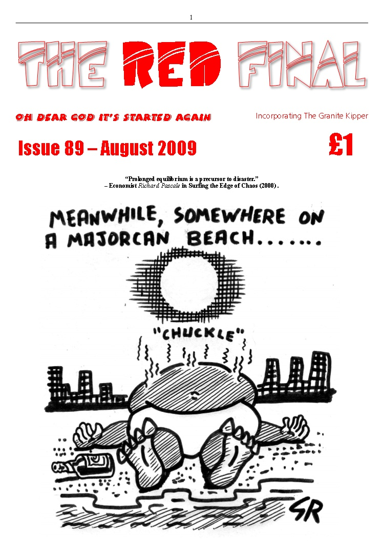 The Red Final, Issue 89