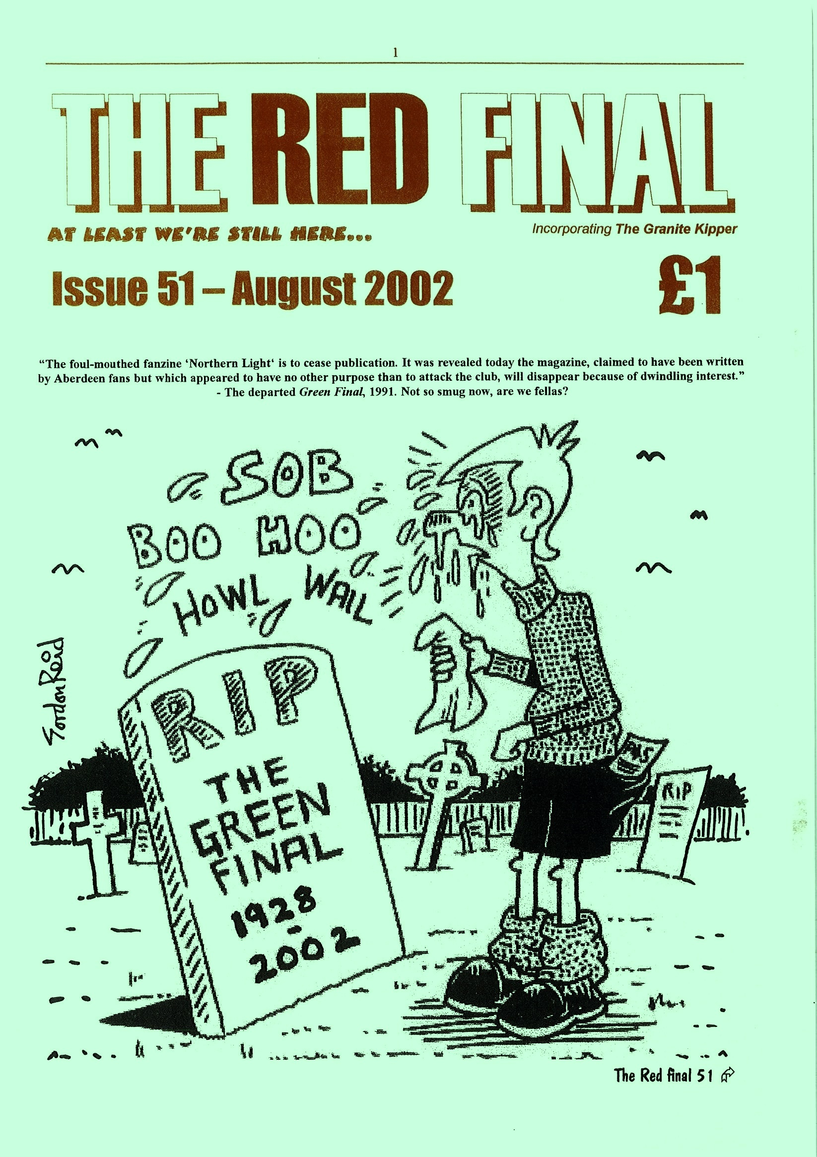 The Red Final, Issue 51