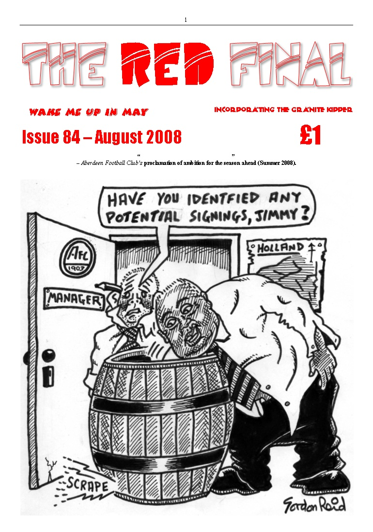 The Red Final, Issue 84