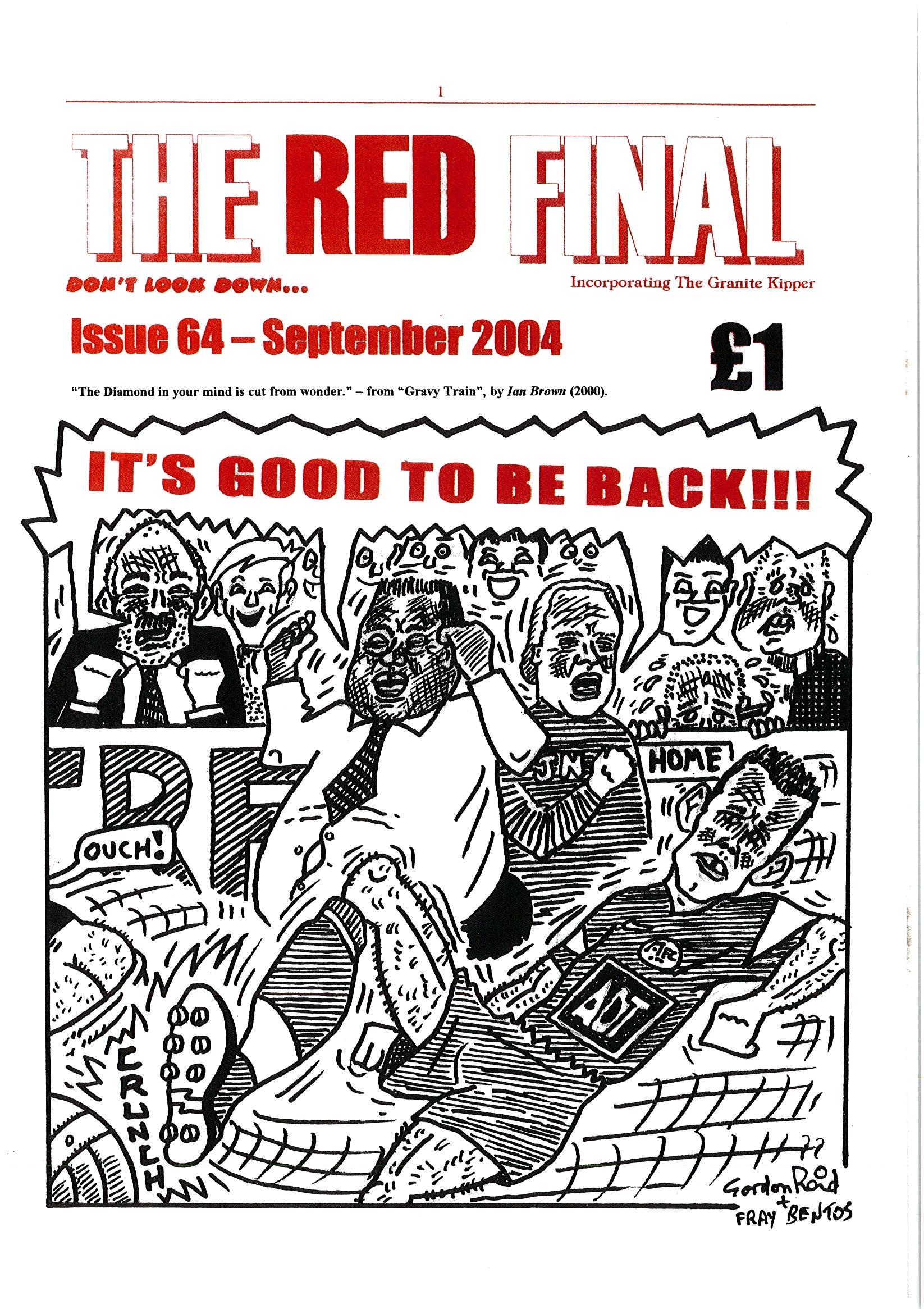 The Red Final, Issue 64