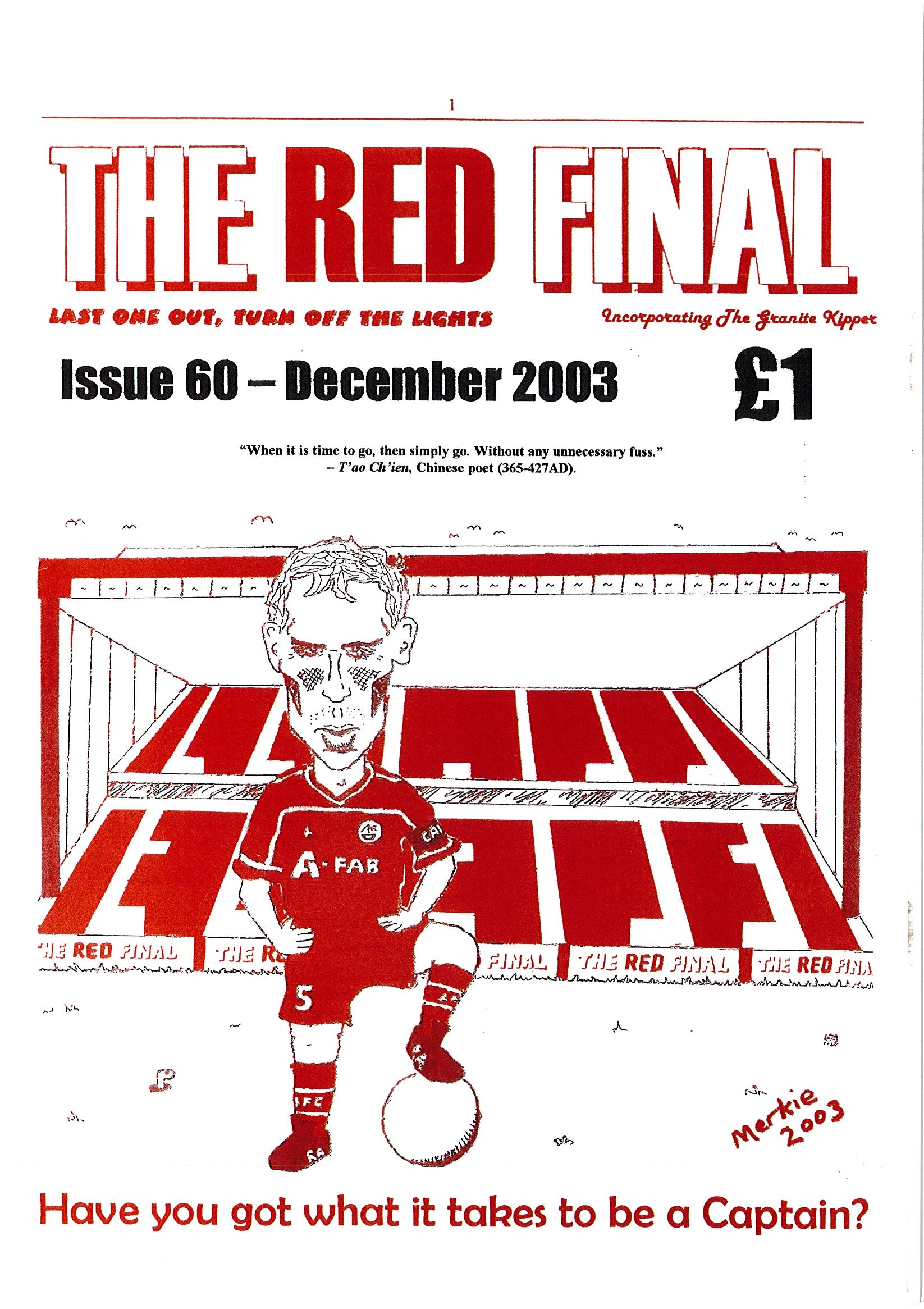 The Red Final, Issue 60