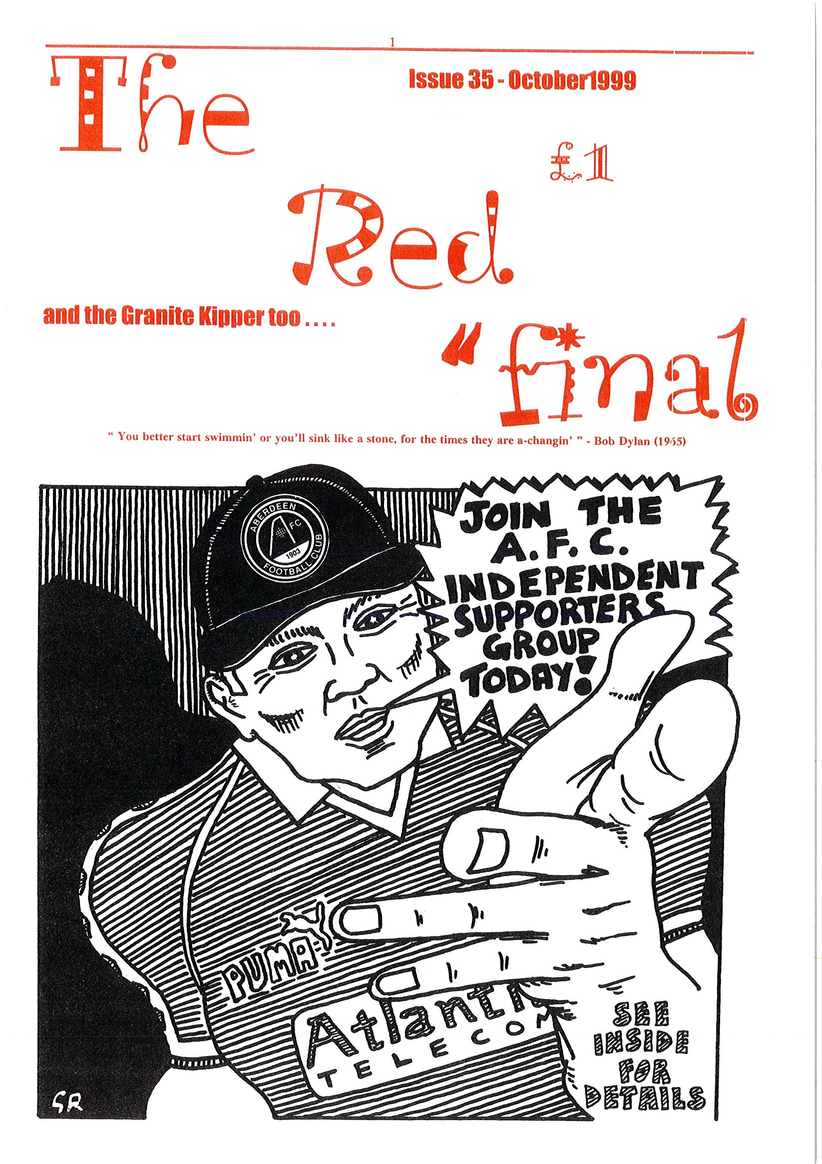 The Red Final, Issue 35