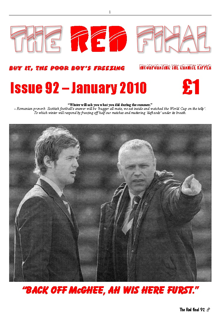 The Red Final, Issue 92