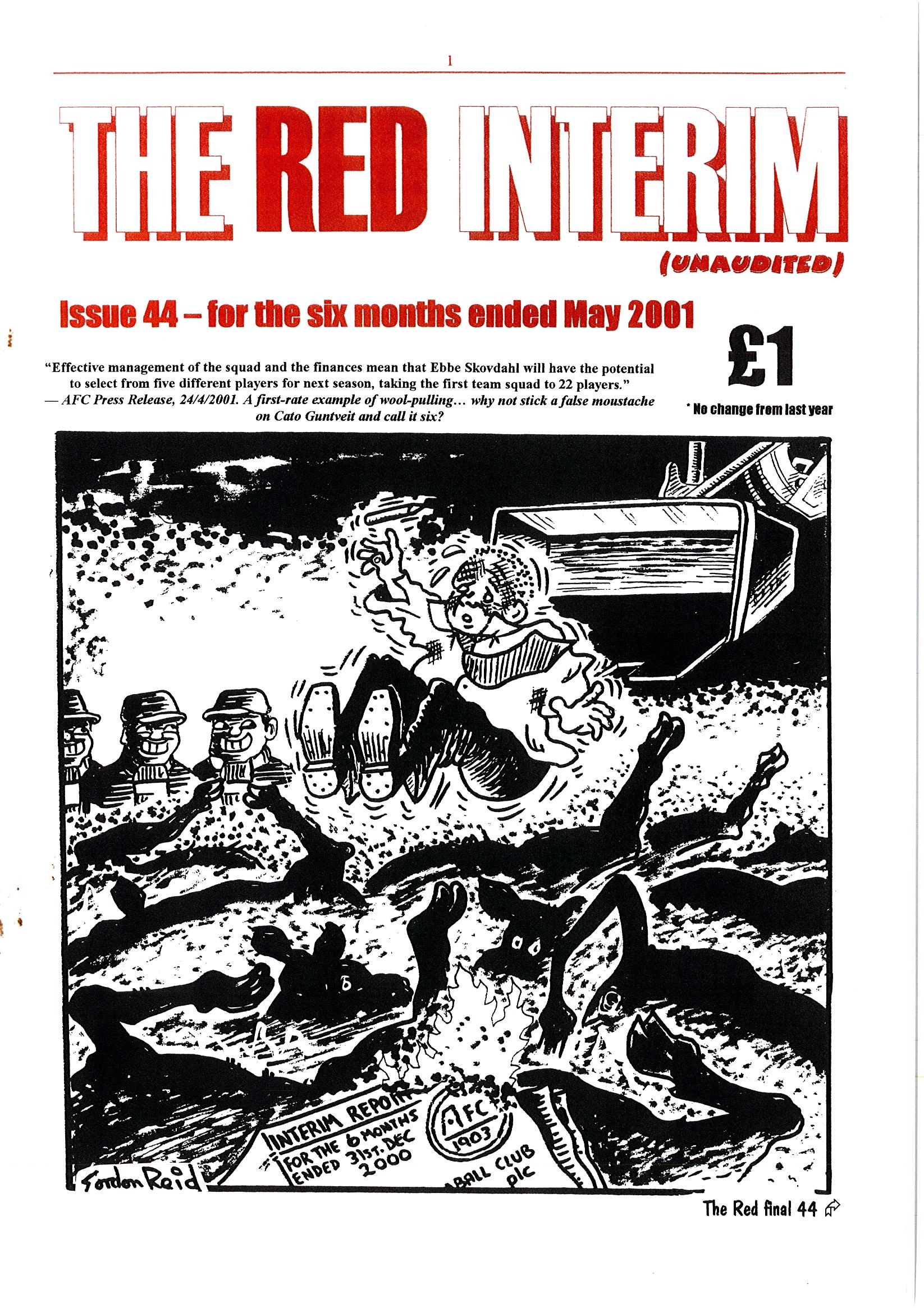 The Red Final, Issue 50