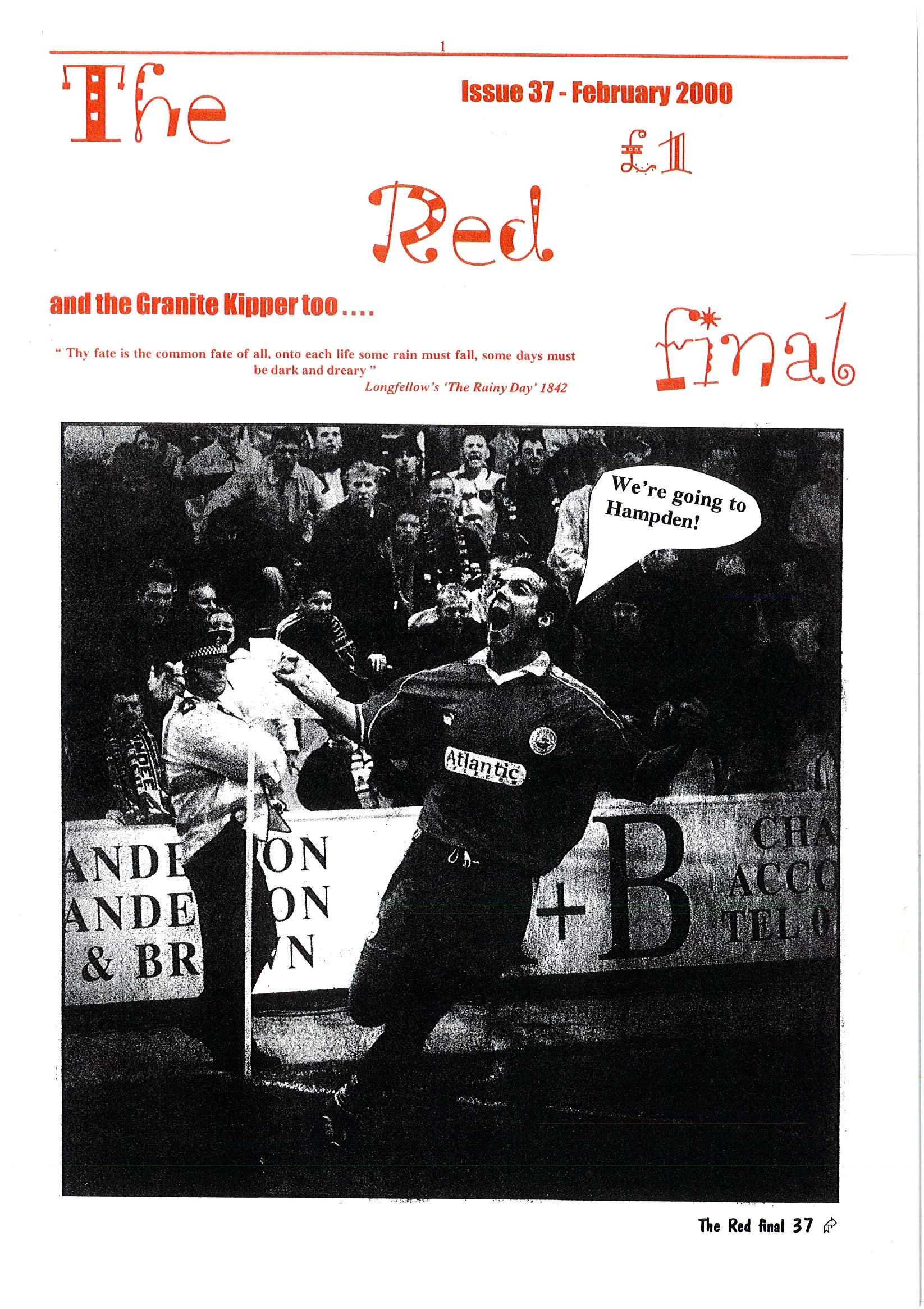 The Red Final, Issue 37