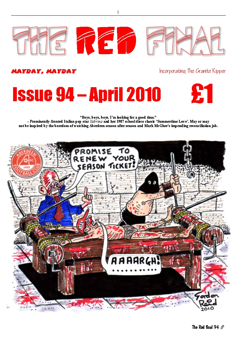The Red Final, Issue 94