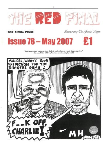 The Red Final, Issue 78