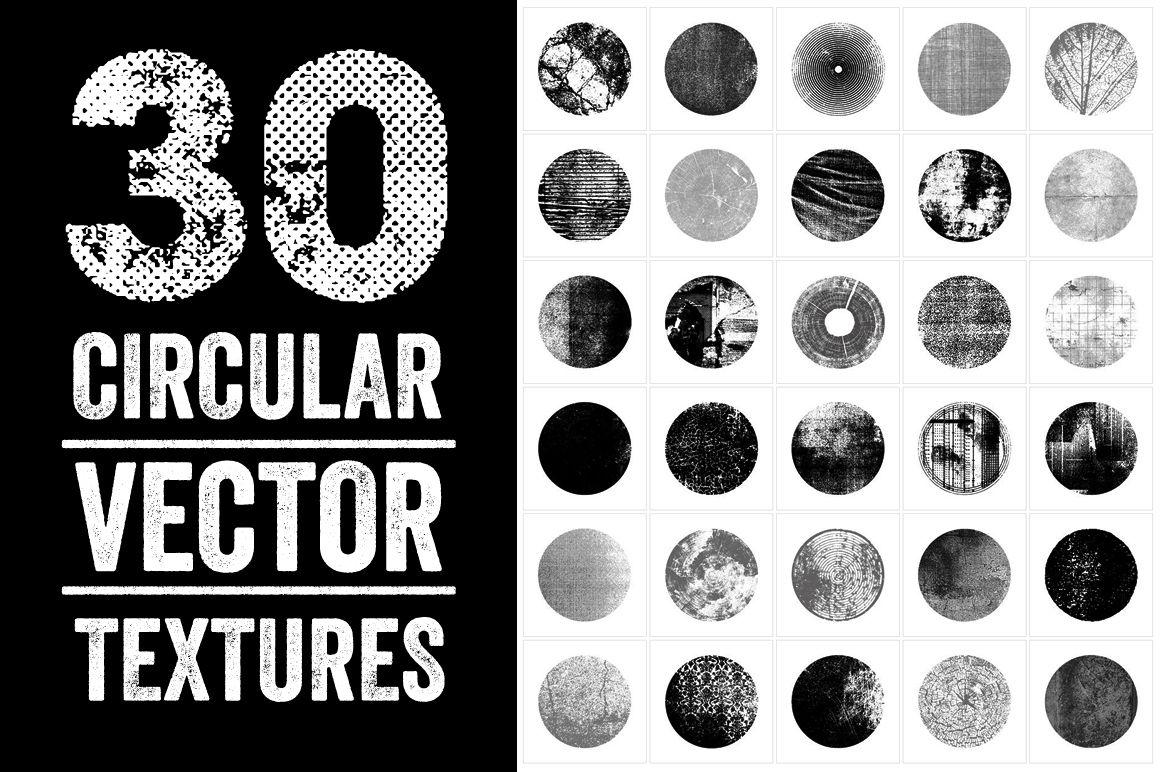 30 Vector Circular   Textures