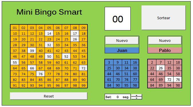 Mini Bingo Smart