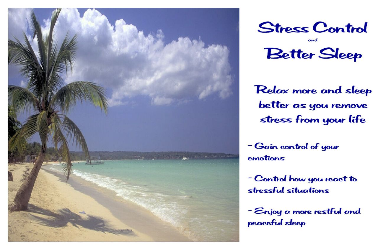 Stress Control And Better Sleep Hypnosis Recording