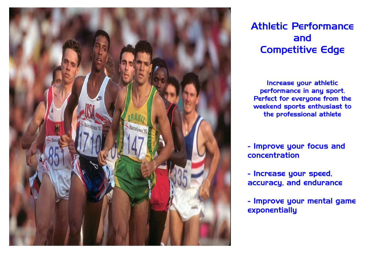 Althletic Performance and Competitive Edge Hypnosis Recording