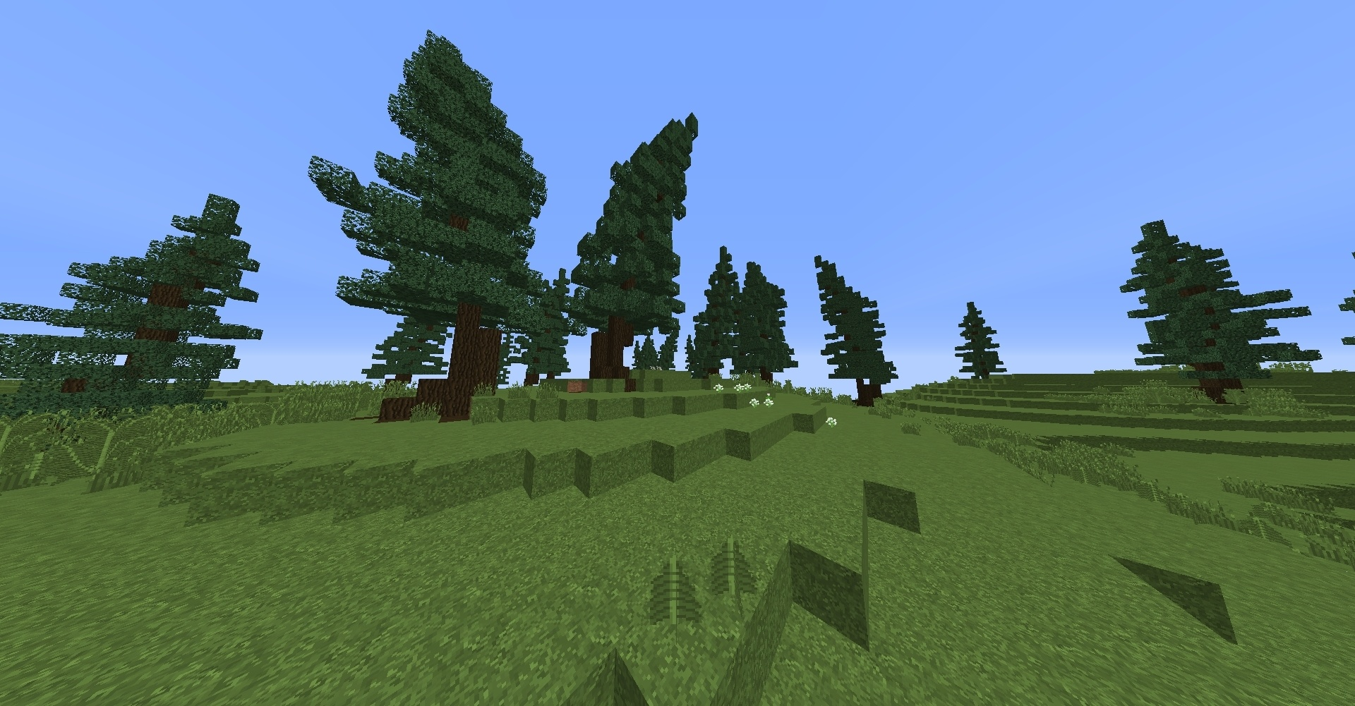 Custom Minecraft terrain - 6kx6k Map