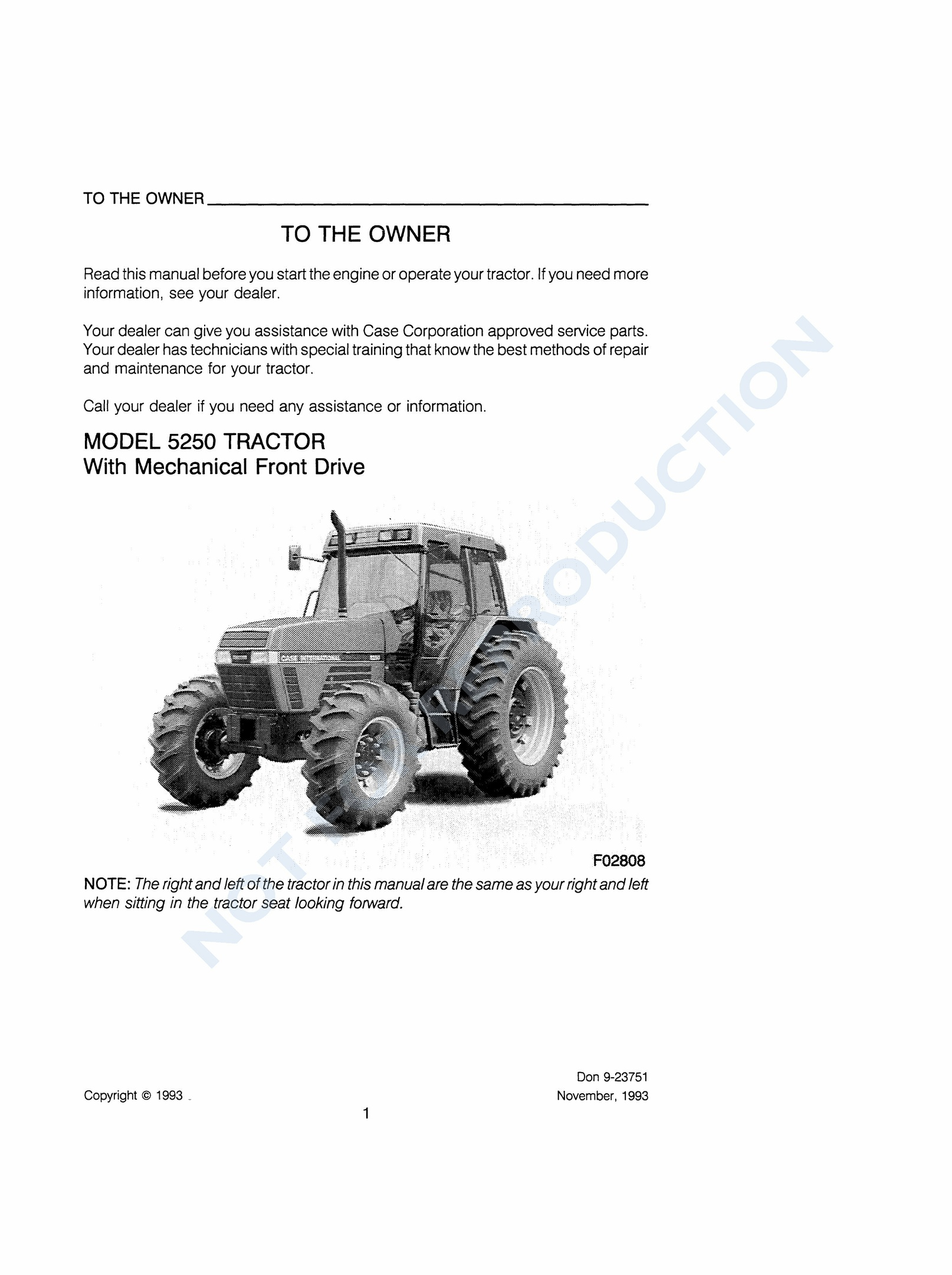 PDF Case Ih Maxxum 5220 5230 5240 5250 Operator Manual