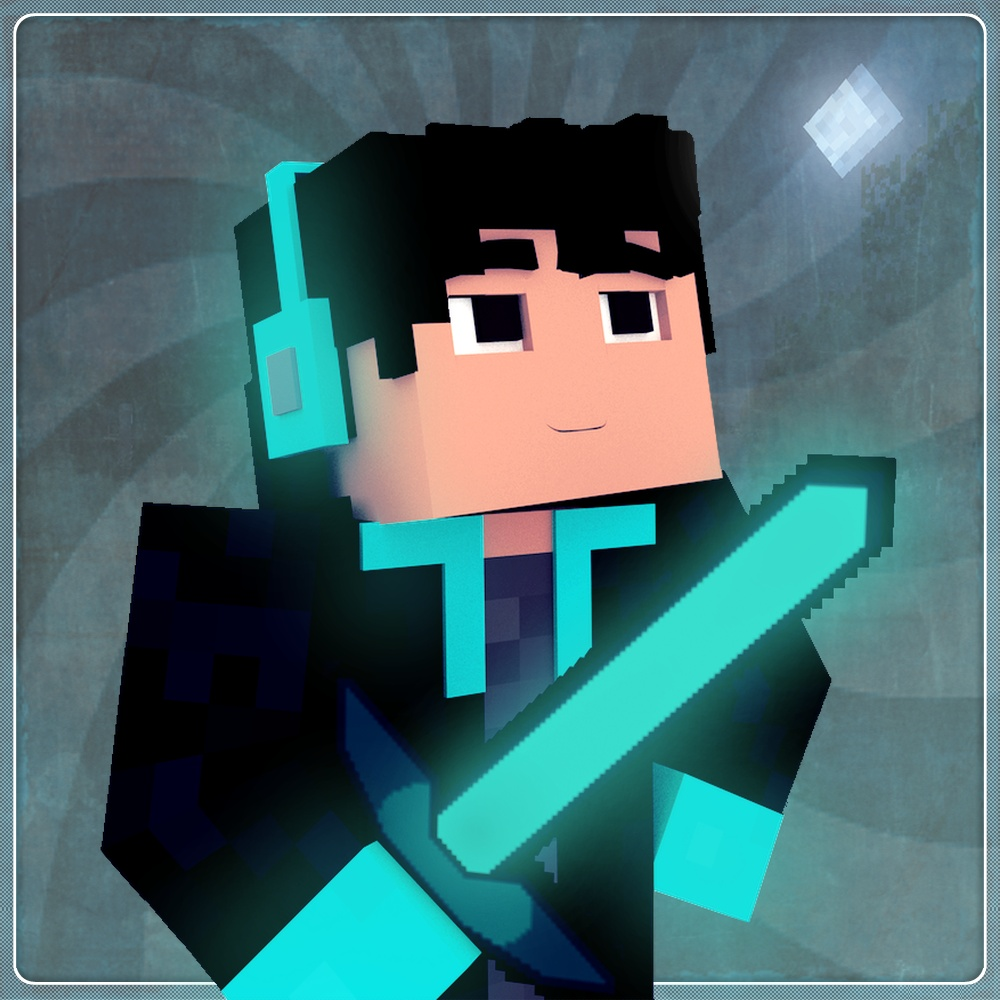 Minecraft Profile Picture w/ Extrusions, Facial Expressions, & Optional Fingers