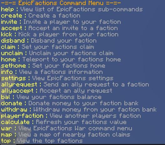 EpicFactions