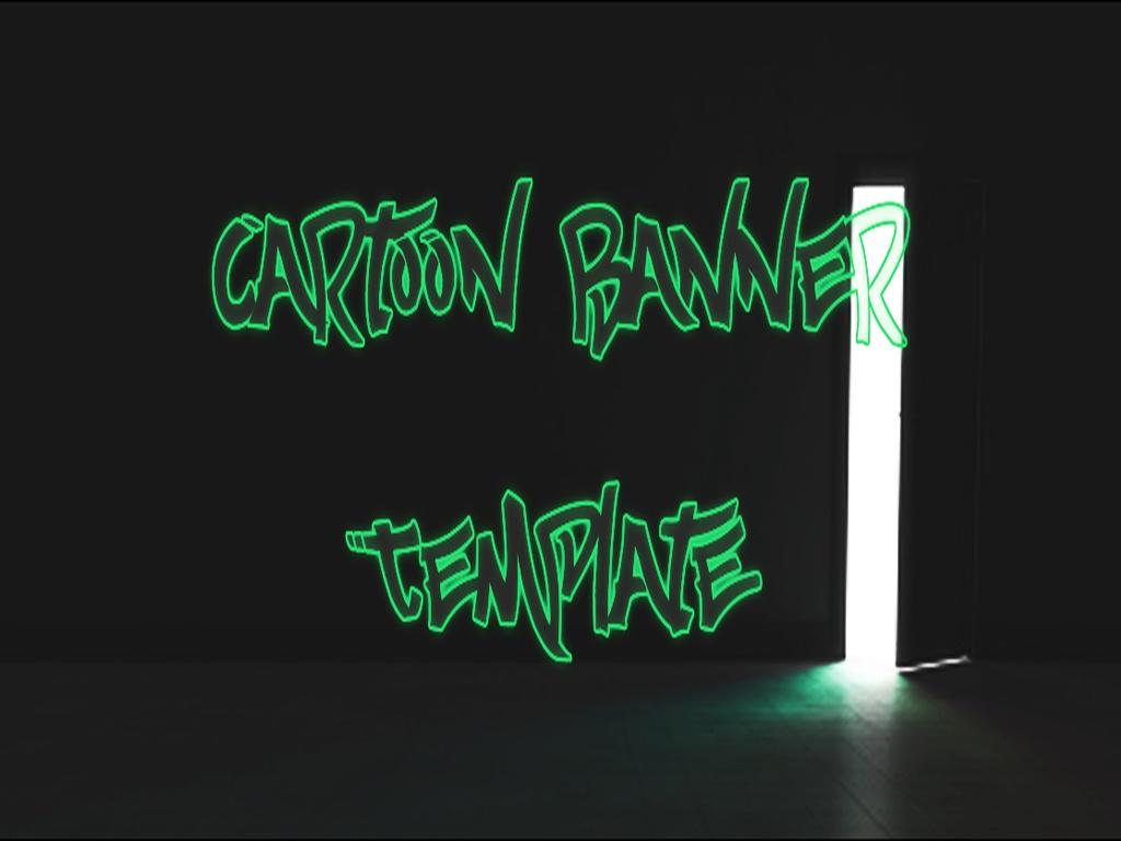 Cartoon Banner Template