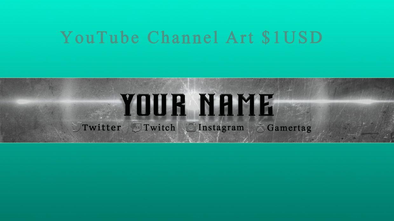 YouTube Channel Art 1