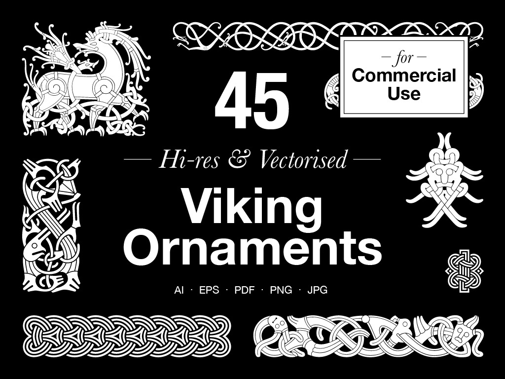 Viking Ornaments – Commercial use