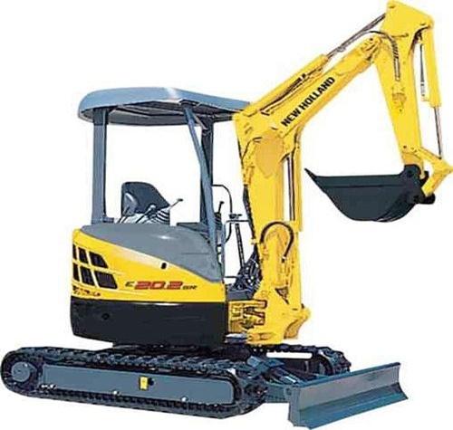 New Holland E20.2SR E22.2SR E27.2SR Mini Crawler Excavators Service Repair Workshop Manual Download