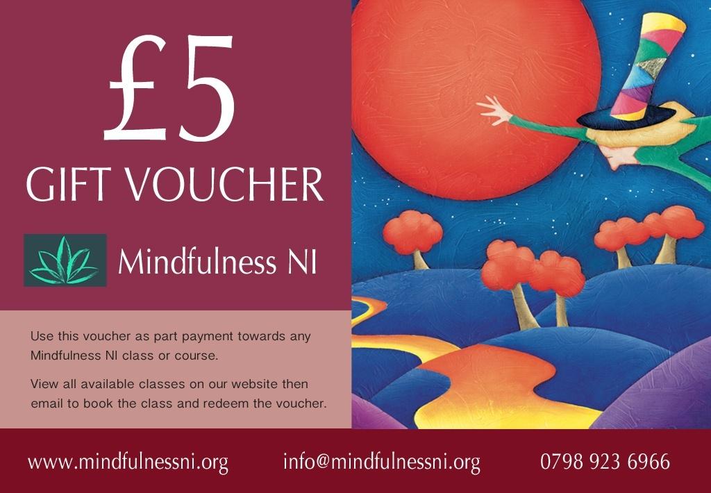 Mindfulness NI £5.00 Gift Voucher