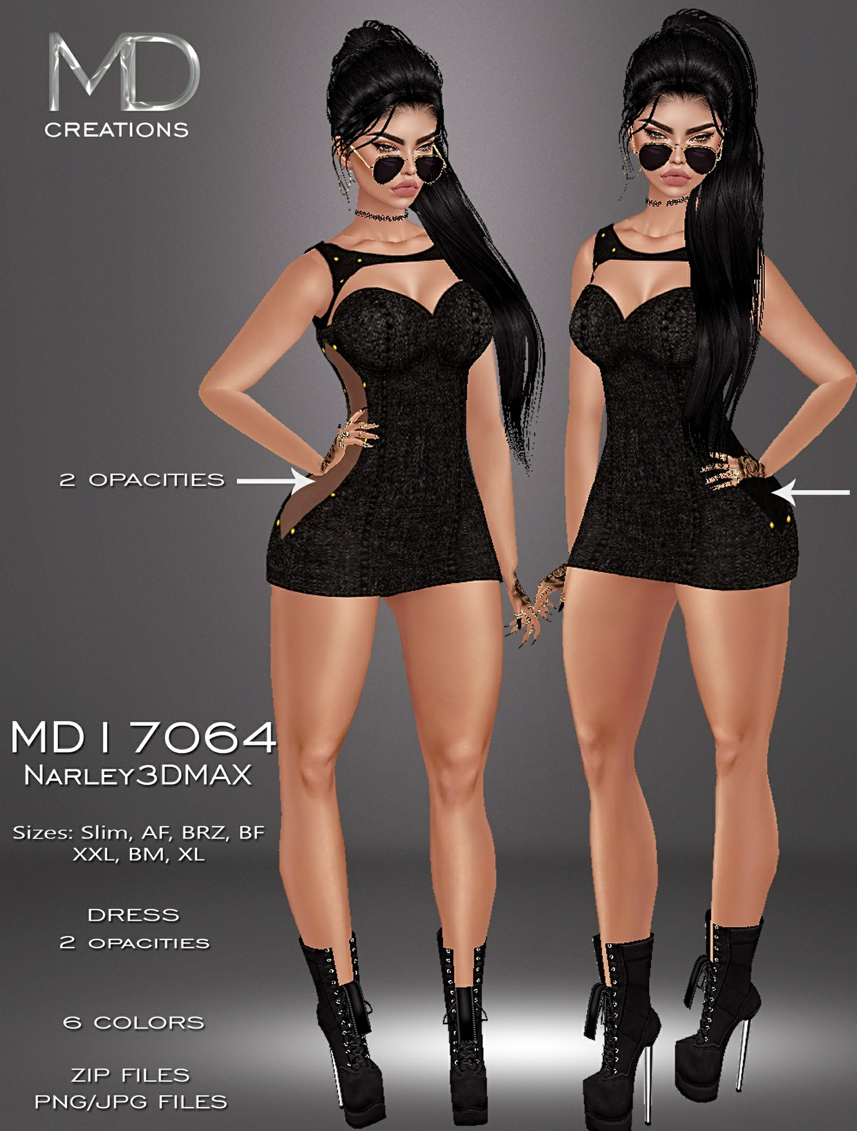 MD17064 - Narley3DMAX