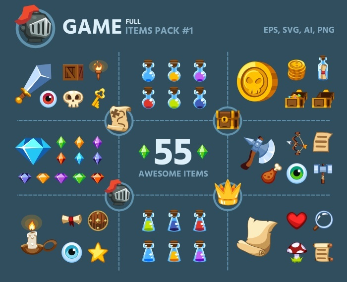 Game Items Pack #1