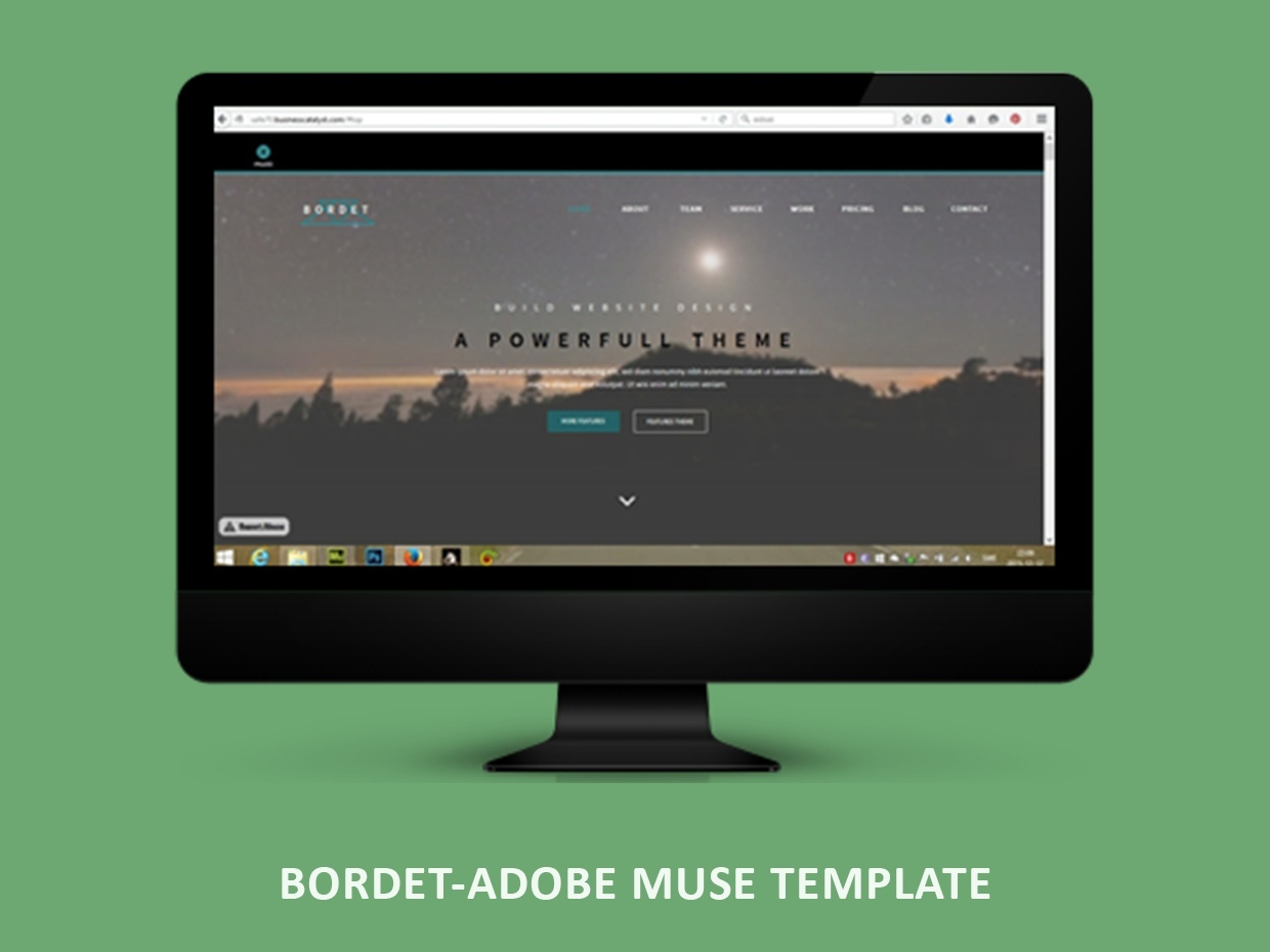 Bordet adobe muse template sauli for Adobe muse templates free