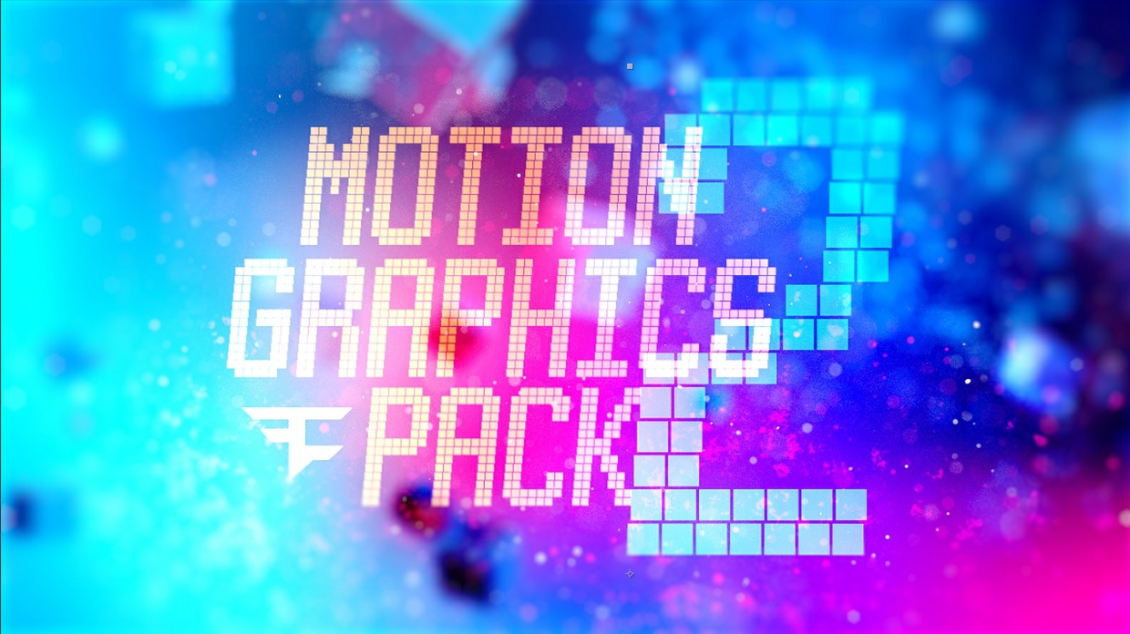 FaZe Unchained's Motion Graphics Pack 2