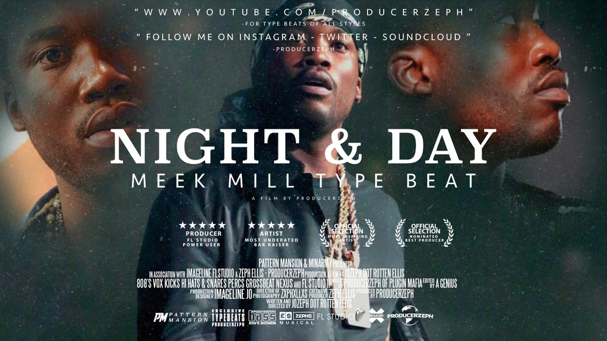 Meek Mill Type Beat - Night & Day