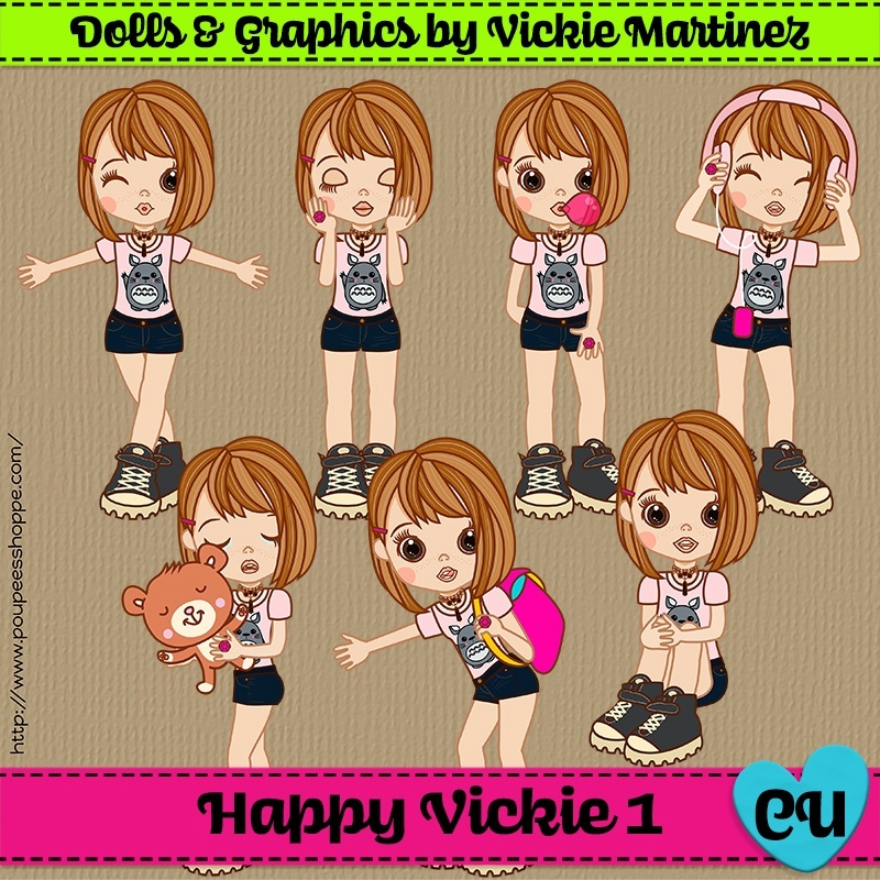 Happy Vickie 1