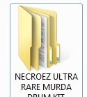 NECROEZ ULTRA RARE MURDA DRUM KIT