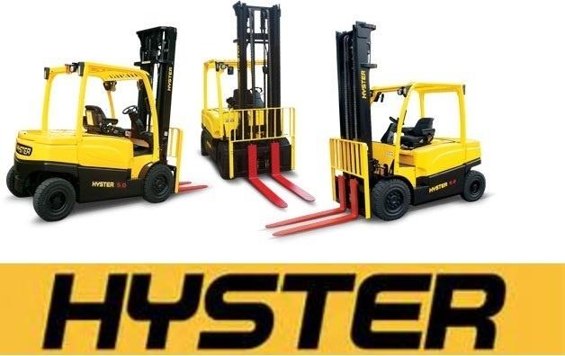 Hyster E001 (H25XM, H30XM, H35XM, H40XM, H40XMS) Forklift Service Repair Workshop Manual