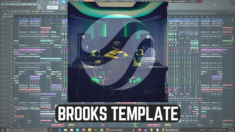 Brooks Drop Template