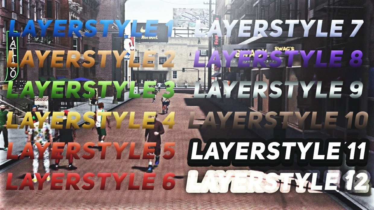 NBA 2K18 LAYERSTYLE PACK