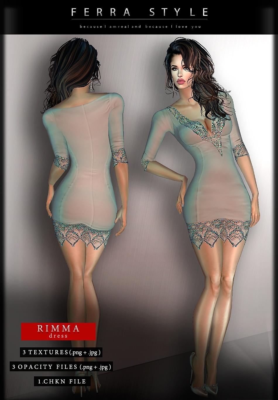 :: RIMMA DRESS ::