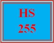 HS 255 Week 3 El Contracto