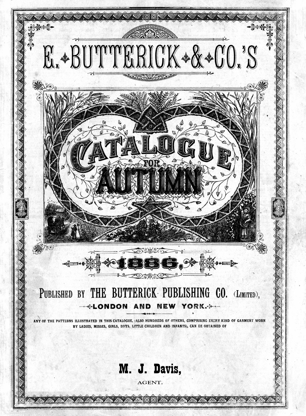 1886 pattern catalog reprint