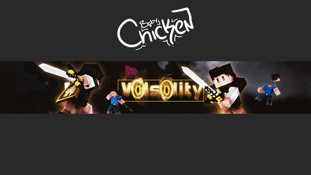 Minecraft Youtube Banner Channel Art Babychicken