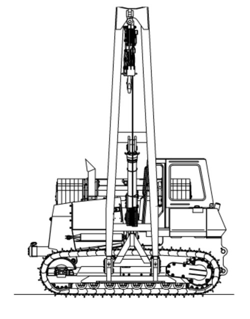 LIEBHERR RL52 Litronic PIPE LAYER OPERATION & MAINTENANCE MANUAL