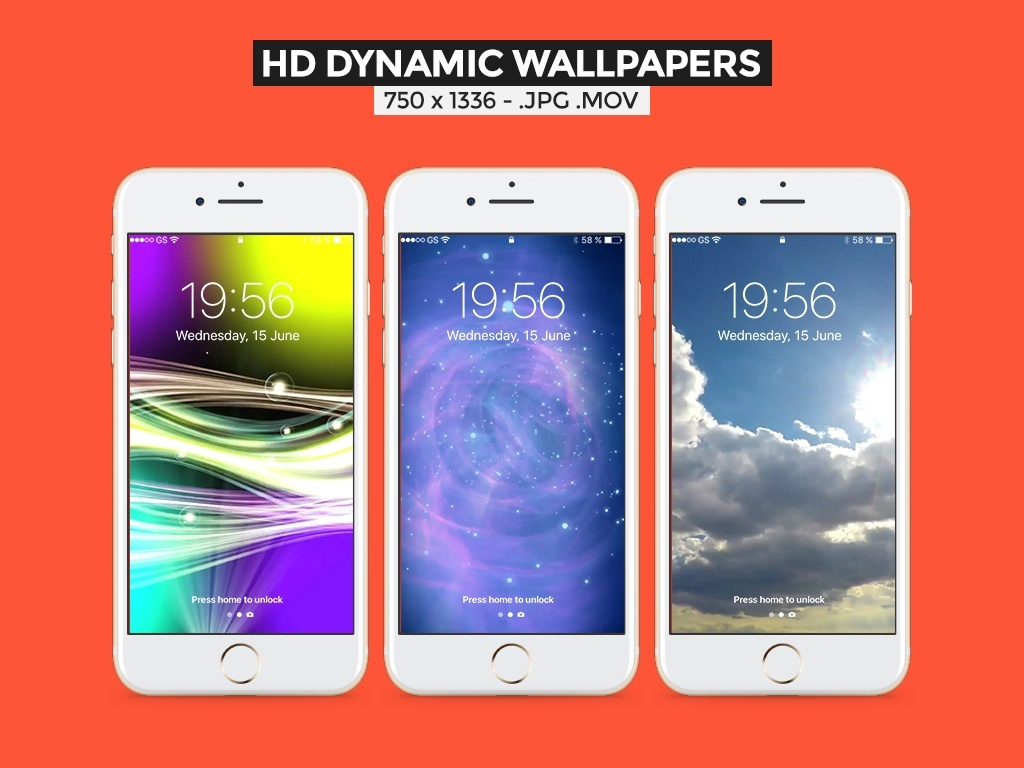 100 LIVE WALLPAPERS FOR iOS