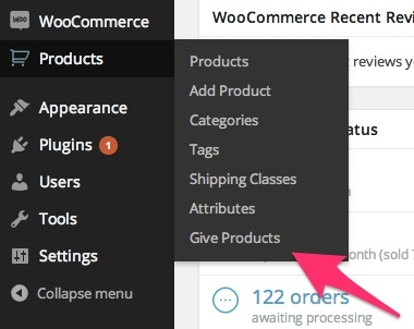 WooCommerce Give Products 1.0.12 Extension